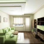 вариант необычного интерьера гостиной комнаты 16 кв.м фото