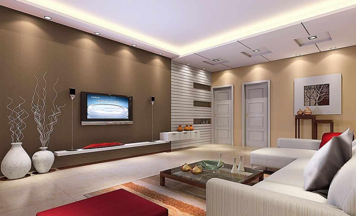 идея красивого декора гостиной комнаты 2018