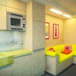 идея необычного стиля гостиной комнаты 19-20 кв.м фото