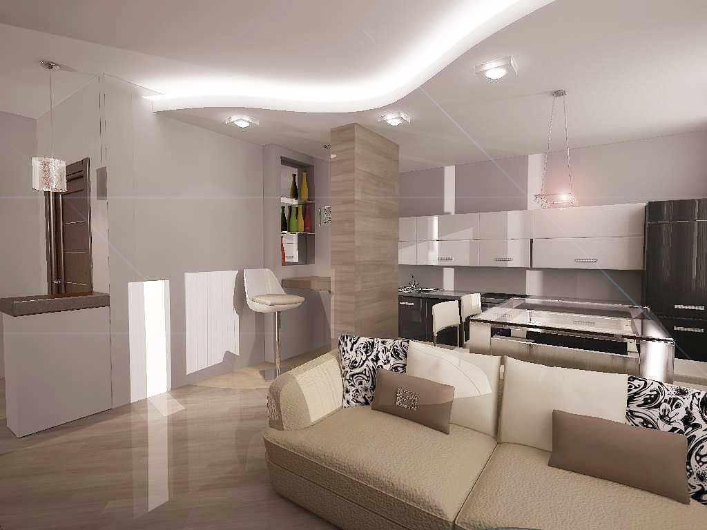 вариант светлого стиля гостиной комнаты 25 кв.м