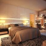 дизайн спальни кровать для пары