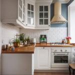 Угловая планировка кухонного пространства