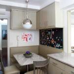 Балки из гипсокартона в дизайне кухни