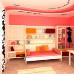 Оформление комнаты молодой девушки в розовых тонах