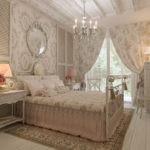Дизайн современной спальни в стиле прованс