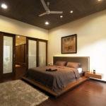 дизайн спальни персиковые тона