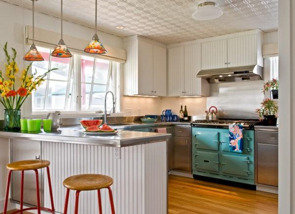 Американский стиль для дизайна кухни