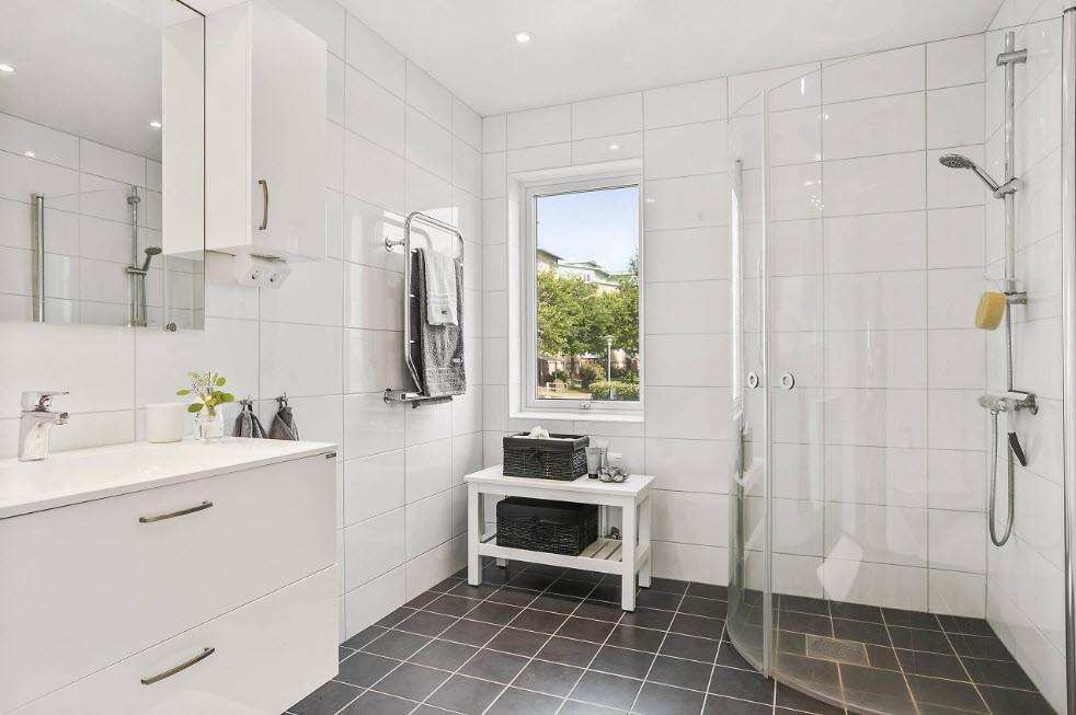 Дизайн ванной комнату в стиле минимализма