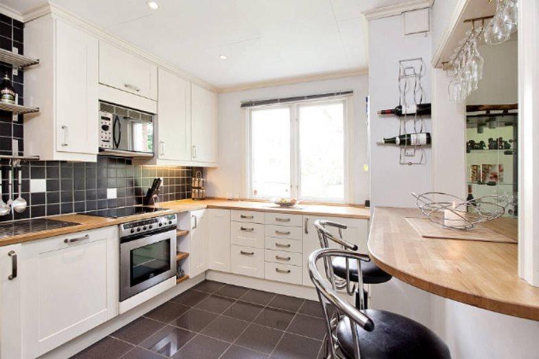 Деревянные поверхности кухонного гарнитура