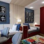 Современная комната для двух мальчиков