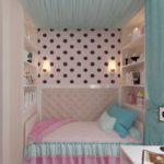 Оформление спальной зоны в нежных оттенках