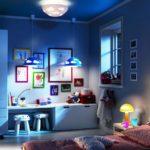 Освещение детской комнаты в ночное время