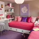 Розовые матрасы на детских кроватках