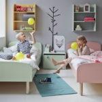 Дизайн комнаты для двух детей в стиле минимализма
