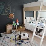 Стена с грифельной доской для развития творчества у детей