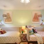 Тесктиль в оформлении комнаты девочек