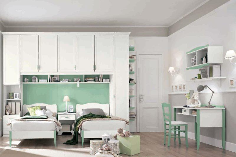 Оформление детской комнаты в минималистическом стиле