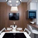 Дизайн-проект кухни в стиле минимализма