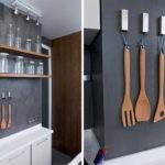 Стильные крючки для кухонной утвари