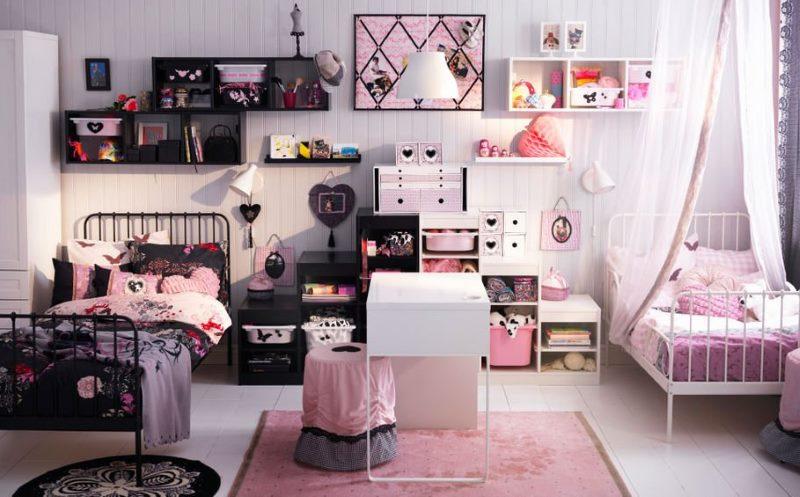 Интерьер спальни для мальчика и девочки