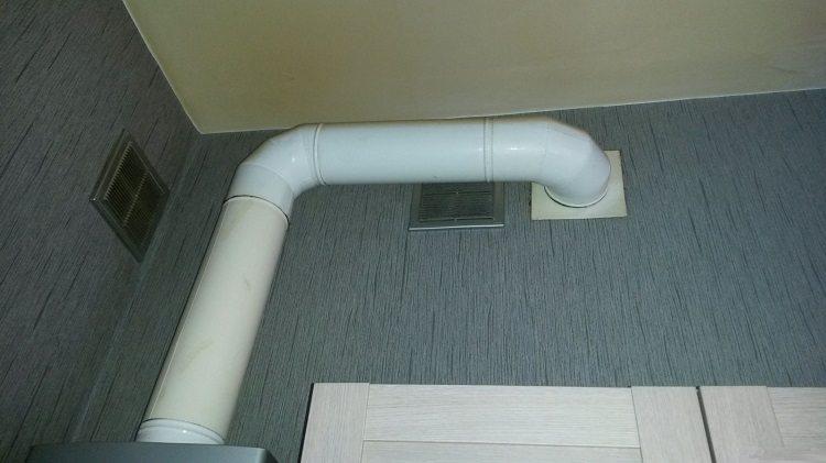 Дымоход газовой колонки на кухне хрущевки