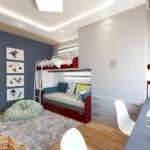 Светодиодная подсветка потолка детской комнаты