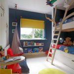 Лестница в виде дерева на второй ярус детской кровати