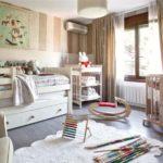 Детская комната с кроваткой для малыша