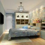 Дизайн детской спальни в пастельных тонах