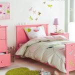 Розовая мебель для девочки дошкольного возраста