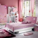 Стильная спальня девочки-подростка