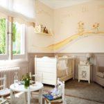 Кукольные столик в комнате стиля прованс