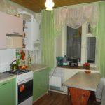 Салатовый цвет в дизайне кухни