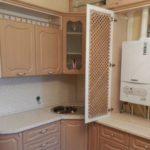Решетчатая дверца кухонного гарнитура