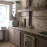 Керамическая плитка в оформлении кухонного пространства