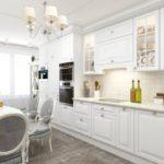 Дизайн кухни в стиле классики