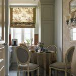 Оформление узкой кухни в современной квартире