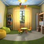 Дизайн детской для ребенка дошкольного возраста