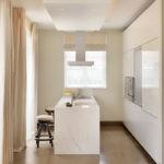 Подсветка потолка кухни в стиле минимализма