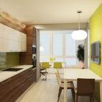 Коричневые оттенки в интерьере кухонного помещения