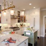 П-образная планировка проходной кухни