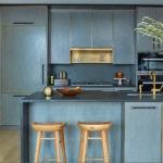 Закрытая система хранения в современной кухне