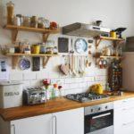 Деревянный полки для кухонной утвари своими руками
