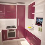 Дизайн-проект кухни для хрущевки