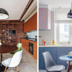 Круглые кухонные столы для кухне небольшой площади