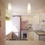 Интерьер кухни в кремовом цвете