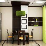 Зеленый плафон подвесного светильника