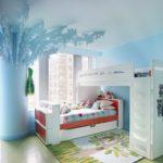 Дизайнерское оформление детской комнаты