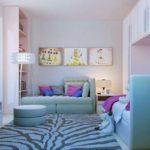 Телевизор в современной детской комнате