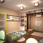 Организация освещения детской спальни